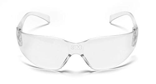 Óculos De Segurança Virtua Com Tratamento Antirrisco 3m Transparente 3m