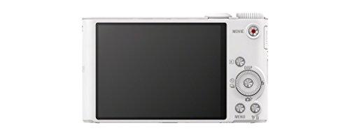Sony DSC-WX350 Digitalkamera (18,2 Megapixel, 20-fach opt. Zoom, 7,5 cm (3 Zoll) LCD-Display, NFC, WiFi) weiß