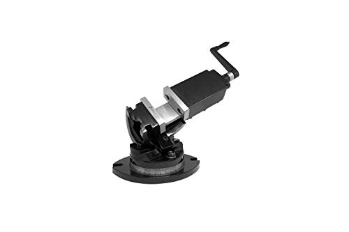 PAULIMOT 3-Achsen Maschinen-Schraubstock 52 mm Backenbreite 360° drehbar