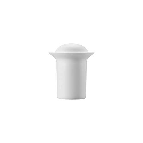 Zens Teapot Stone Series Matte White Teekanne aus Porzellan mit Silikondeckel