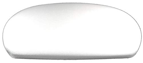 Spandex Fabric Cover for a lid Toilet Tank - Handmade in USA (White)