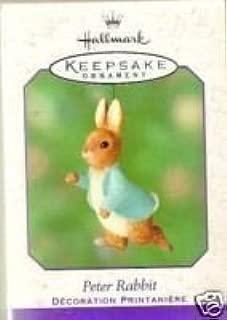 Hallmark Keepsake Ornament - PETER RABBIT By Beatrix Potter (2001) QEO8545
