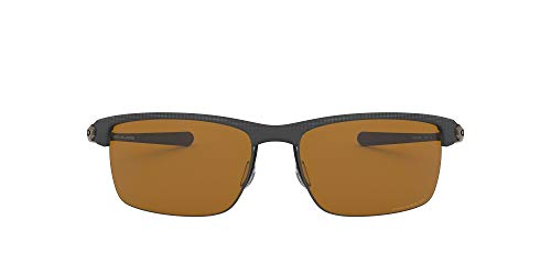 Oakley Blade Lunettes de Soleil, Matte Carbon Fiber, 66 Homme