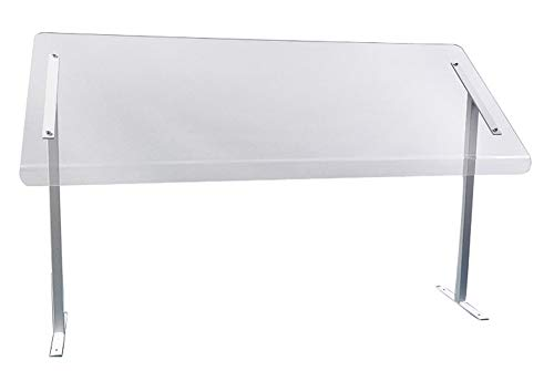 """SneezeGuard - Freestanding with Legs 