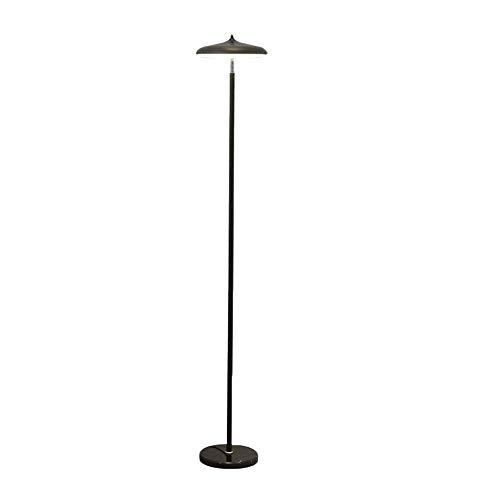 Home Equipment Lámpara de pie de poste de pie regulable LED Lámparas de pie modernas y elegantes con interruptor de presión de pie Luz de pie para sala de estar Salón Dormitorio Vida útil larga Lúm