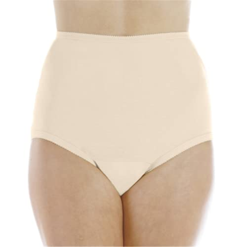 "Wearever (6-Pack) Women's Beige Cotton Comfort Regular Absorbency (0.5 Cup) Incontinence Panties 3X (Fits Hip Sizes: 49-51"")"