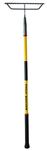 Stanley Garden BDS7136T FATMAX Fiberglass Handle Bow Rake, Yellow/Black