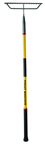 Stanley Garden BDS7136T FATMAX Fiberglass Handle Bow Rake, Yellow/Black