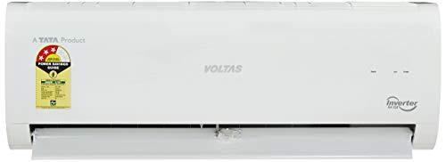 Voltas 1 Ton 3 Star Inverter Split AC (Copper, 123V CZT, White)