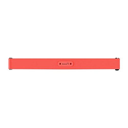 Suunto - Smart Sensor Black HR Belt - Cinturón soporte para monitor del ritmo cardiaco - Color coral (rojo) - Talla M