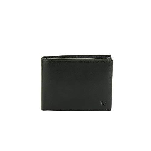 Roncato Portafoglio Con Portamonete Pascal - cm 13x9.5x1.5 Ultra-leggero Organizer Interno Garanzia 2