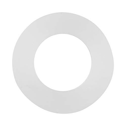 Junta tórica de silicona, junta plana de material de silicona premium resistente a altas temperaturas para conexión de pulverizador para válvulas de compresor Reparación de tuberías para(3/4')
