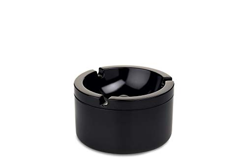 Mepal Lid Ashtray, us:one Size, Black