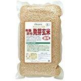 国内産有機活性発芽玄米(徳用) 2kg 2袋セット