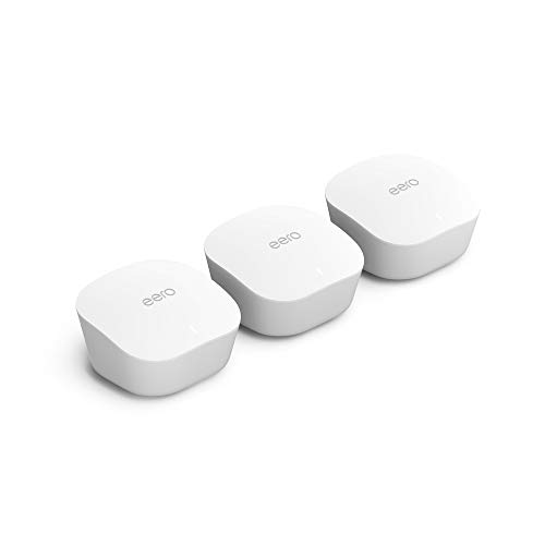 Sistema Wifi en malla EERO – 3 unidades cubren hasta 460 m²