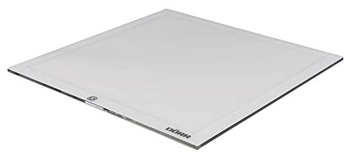 Dörr 361450LED Light Tablet Ultra Slim LT 2020(36LED, illuminato superficie circa 165X 165mm, 5600K, Dimmerabile) Bianco