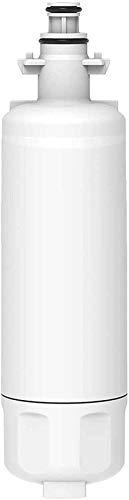 Beapet Filtro de Agua Compatible con 4874960100 Cartucho Fits BEKO, Smeg, BLOMBERG, Lamona, Ocio, Refrigerador Grundig - Frigorífico de dispensador de Agua SBS - 4877880200 487960200 4874960100WF