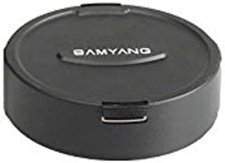Samyang 7823 Lens Cap 8 mm F3.5 Fisheye Lenses, Black