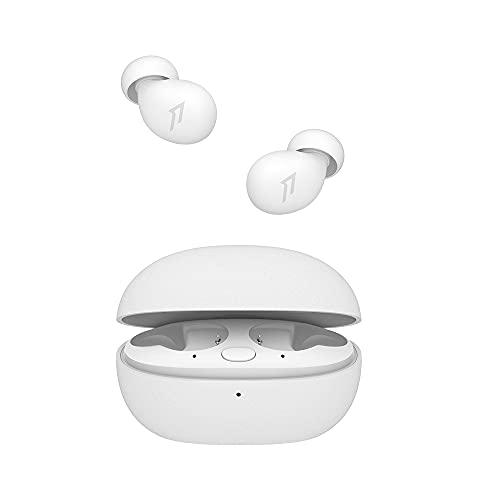 1MORE ComfoBuds Z, Auriculares Inalámbricos para Dormir con Cancelación de Ruido, 30 Sonidos Relajantes Incorporados, Auriculares Bluetooth para Dormir Mejor, Blanco