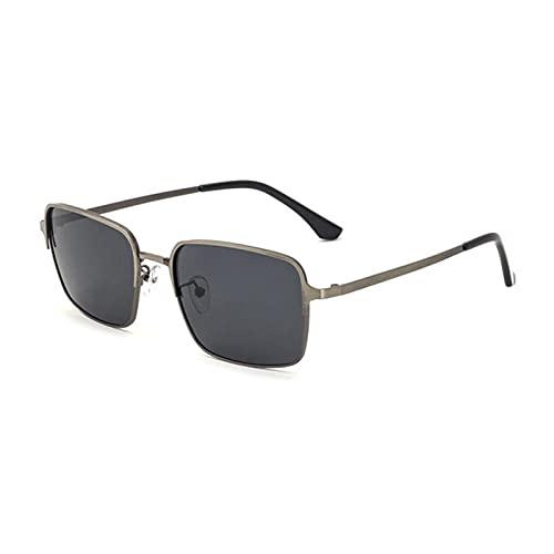 UKKD Gafas De Sol Mujer Gafas De Sol Para Conducir Al Aire Libre Tendencia De Moda De Hombres Vidrios Polarizados Marco De Metal Uv400