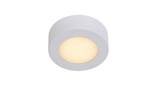 Lucide 28116/11/31 - Plafón de aluminio, 8 W, color blanco