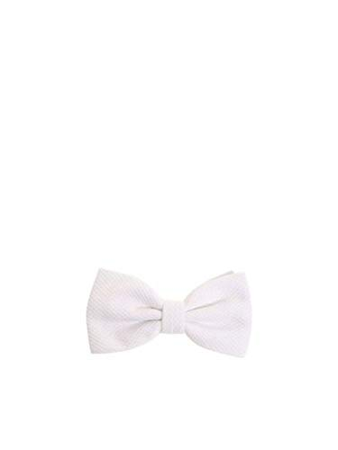 Canali Luxury Fashion Herren D410702 Weiss Fliege | Jahreszeit Permanent