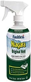 Niagara Spray Starch (22 Oz, 2 Pack) Trigger Pump Liquid Starch for Ironing, Non-Aerosol Spray on Starch, Reduces Ironing Time, No Flaking, Sticking or Clogging, Biodegradable Ingredients, Recyclable