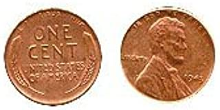 1943 Copper Plated Real US Steel Penny Numismatic Coin