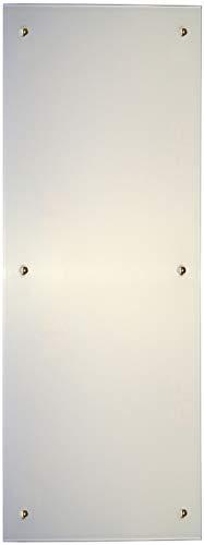 Jollytherm Infrarot Glasheizkörper 45x120cm 850W Heizpaneel, Farbe:weiß