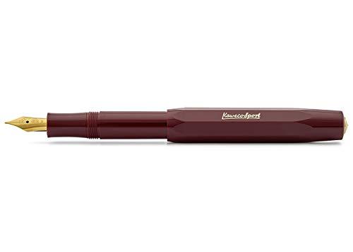 Kaweco Classic Sport - Penna stilografica, 9 mm, colore: bordeaux