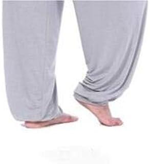 BEESCLOVER Super Loose Sweatpants Yoga Pants Men Men's Pyjama Trousers Sleep Bloomers Pants Asia M-3XL Light Gray XL