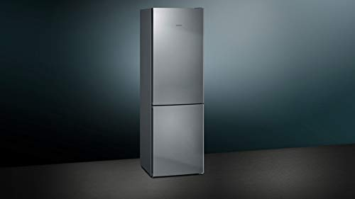 Siemens iQ300 KG36NVI4A Independiente 324L A+++ Plata, Acero inoxidable nevera y congelador - Frigorífico (324 L, SN-T, 14 kg/24h, A+++, Compartimiento de zona fresca, Plata, Acero inoxidable)