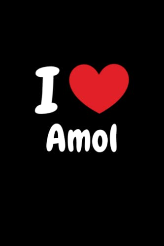 """I love Amol Notebook: Journal for Kids, Teens, Adults (6"""" x 9"""")"""