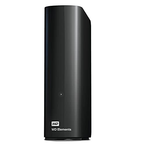WD 18TB Elements Desktop, Hard Disk esterno USB 3.0