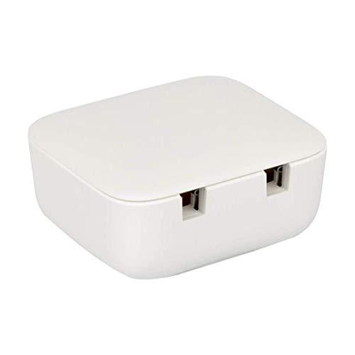 UV Elektrische tandenborstel sterilisator USB oplaadbare muur bevestigde Reistandenborstel Sanitizing Holder Storage Box Geen Ponsen,Two