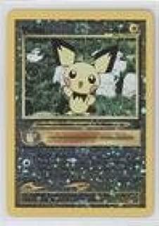 Pokemon - Pichu (Pokemon TCG Card) 1999-2002 Pokemon Wizards of the Coast - Exclusive Black Star Promos #35