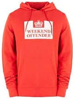 WEEKEND OFFENDER Bisset navy 100/% cotton sweatshirt size small-3XL
