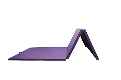 HemingWeigh 4 Fold Gymnastics Mat for Home and Gym, All-Purpose, Anti-Tear, High Density Exercise Mat for Aerobics, Yoga, and Workout 118 inches x 47 inches x 1.9 inches