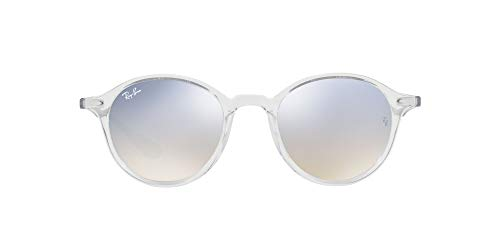 Ray-Ban Junior 4237 Montures de Lunettes, Transparent (Trans), 50 Mixte Adulte