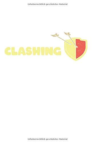 See me Clashing Don't Bother Me Gaming Clash Geschenk Notizbuch: DIN A5 schönes Notizheft | 120 Seiten Punkteraster, Notizbuch für all Anlässe | Geschenkidee Freunde
