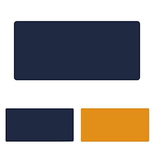 LYQCZ Ordenador Alfombrilla Escritorio,Alfombrilla De Escritorio para Oficina, Tapete De Escritura, Estera Oficina, Uso Doble Cara Cuero PU Impermeable(Size:60x90cm/23.62x35.43in)
