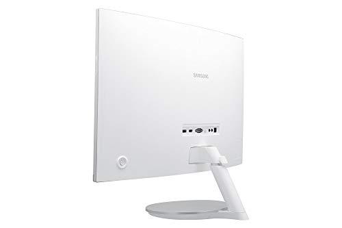 Samsung C27F591F 68,6 cm (27 Zoll) Monitor (HDMI, 4ms Reaktionszeit, 1920 x 1080 Pixel), silber/weiß - 9