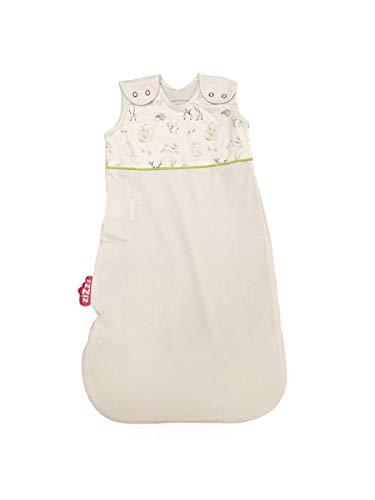 Bio Sommerschlafsack 70 cm (0-6 M & 2 weitere Größen) in süßem In the Woods Design - atmungsaktiver Sommerschlafsack aus Bio-Baumwolle verhilft Ihrem Kind zu einer erholsamen Nachtruhe im Sommer