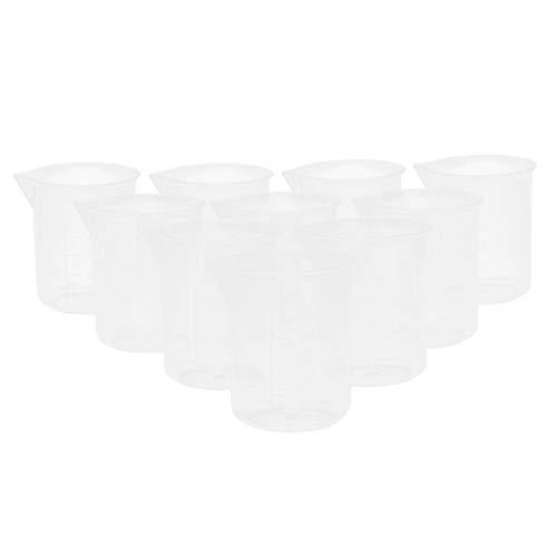 Colcolo 20 Piezas 50 Ml Taza Medidora de Plástico Reutilizable Taza Medidora Taza Medidora,
