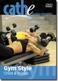 Cathe Friedrich's Gym Style Chest & Triceps DVD by Cathe Friedrich