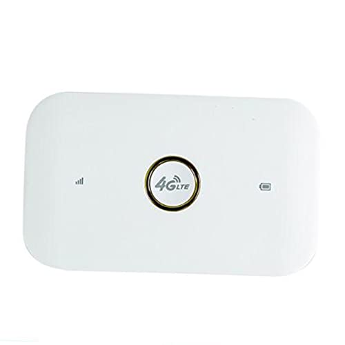 FLAMEER Router Wireless 4G LTE Router WiFi 1500mAh Router WiFi Mobile con Slot per schede SIM per Navigare, chattare o Giocare Online