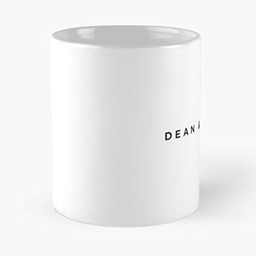 Taza clásica de Dean Deluca, las divertidas tazas de café para Halloween, vacaciones, decoración de fiesta de Navidad, 11 onzas