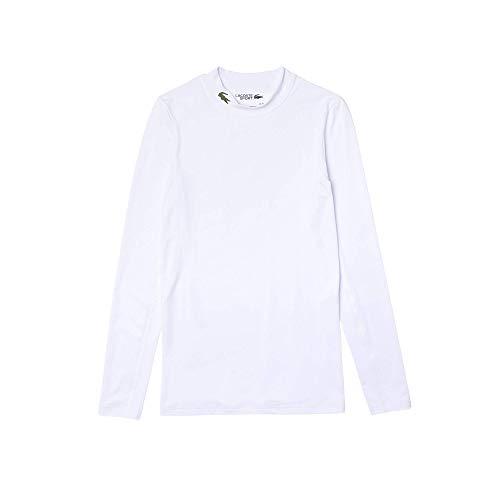 Lacoste Camiseta deportiva para hombre. Blanco (001) XXXXL
