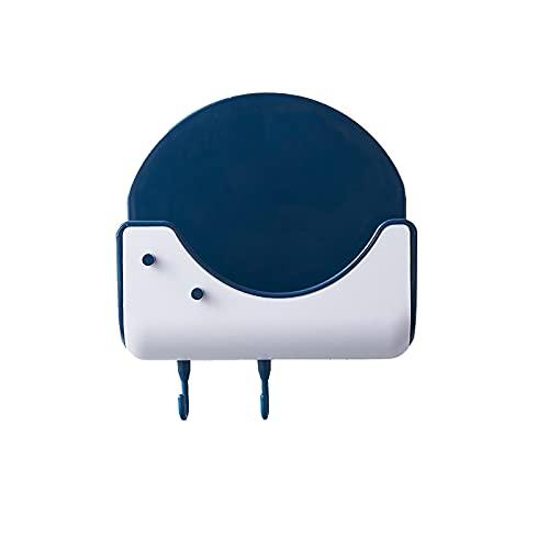 Soporte de cuchara para utensilios de cocina y herramientas de cocina múltiples utensilios con almohadilla de goteo para estufa superior azul