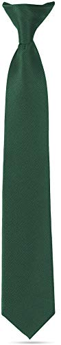 Ties For Boys - Clip On Tie Wove...